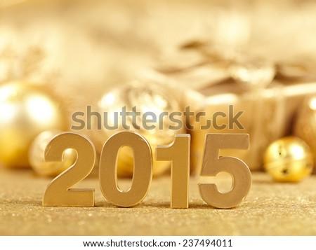 New 2015 Year - stock photo
