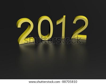 New Year - stock photo
