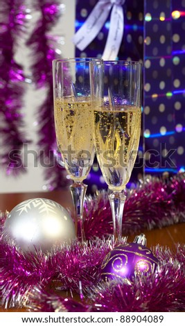 new year and Cristmas - stock photo