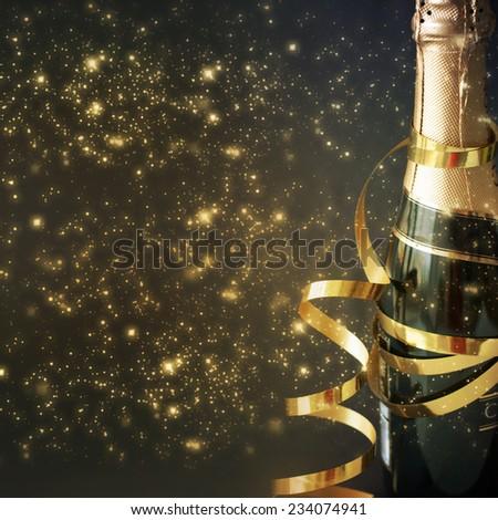New Year Card Design  - stock photo