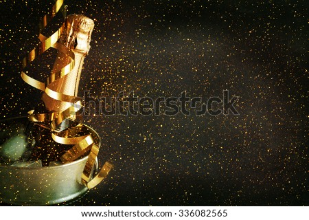 New Year Celebration. - stock photo