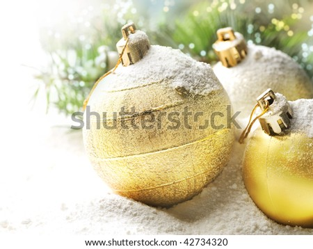 New Year Decoration - stock photo