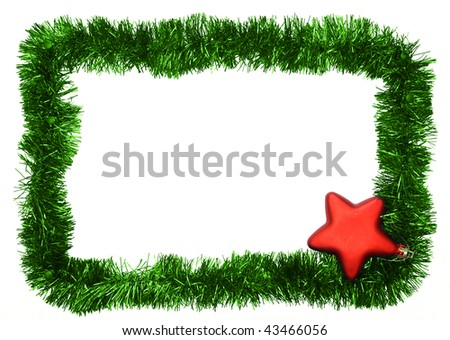 new year frame - stock photo