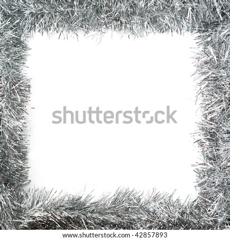 New Year Frame. Element of design. - stock photo