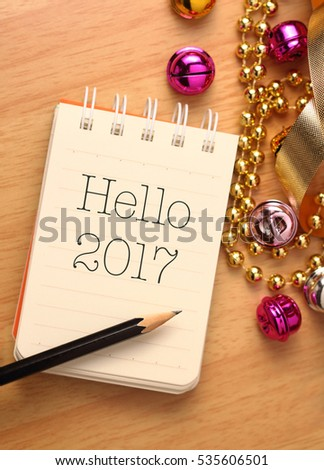 New Year Greetings Colorful Decorations New Stock Photo (Edit Now ...