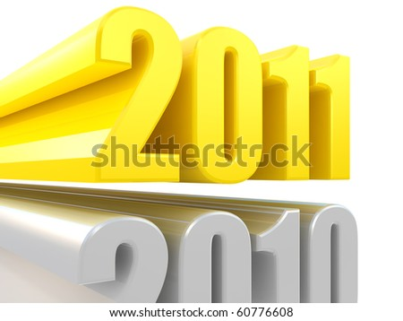 New Year is coming - stock photo