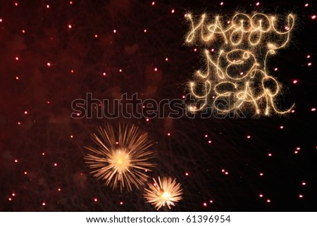 New Year's Celebrations - stock photo