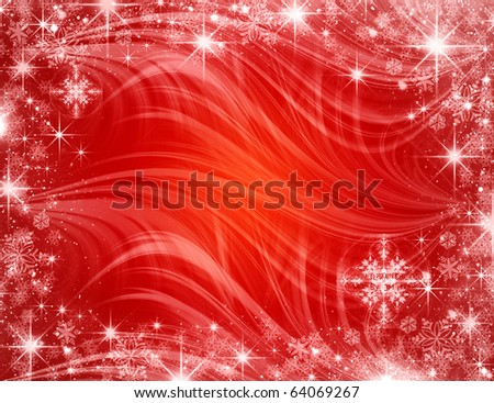 NEW YEAR'S CONGRATULATING CARD - stock photo