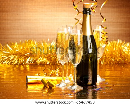 New Year's Day - stock photo