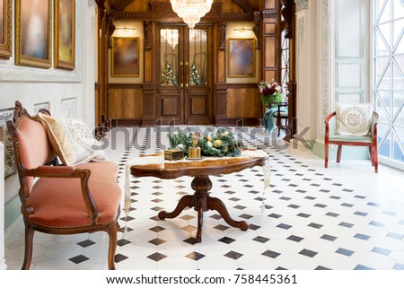New Years Decoration Gorgeous Living Room Stock Photo 757515175 ...