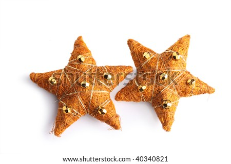 New Year's decorative star