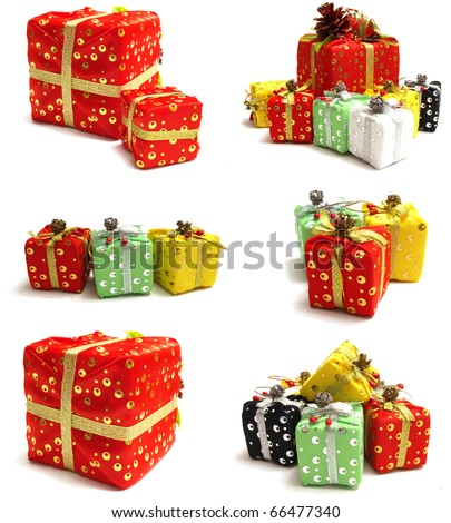 New Year's package - stock photo