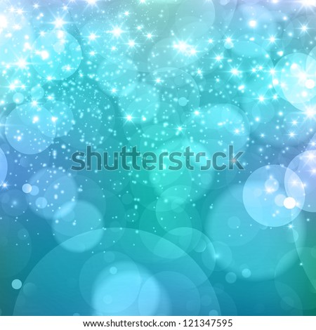 new year & winter celebration beautiful background - stock photo