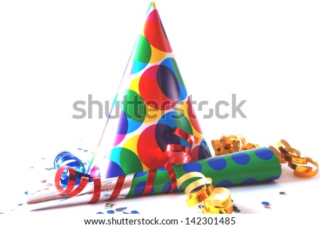 New Years Eve party - stock photo