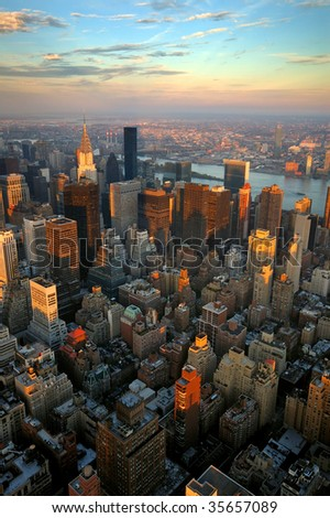 New York - stock photo