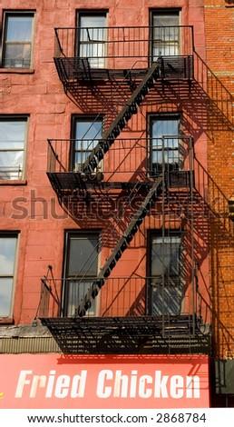 New York Apartments - stock photo