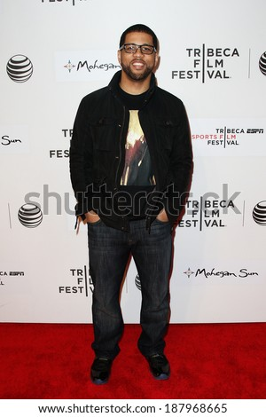 NEW YORK-APR 17: Michael Smith attends the 'When the Garden Was Eden' premiere at the 2014 TriBeCa Film Festival at the BMCC Tribeca PAC on April 17, 2014 in New York City. - stock photo