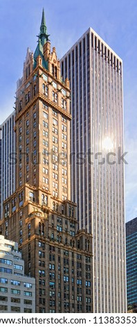 NEW YORK - APR 14: The Pierre hotel  corner of Fifth Avenue at 61st Street, commanding unrestricted views of Central Park.  Opened  in October 1930, on April 14 , 2011 in Manhattan, New York