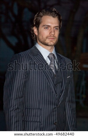 NEW YORK - APRIL 21: Actor Henry Cavill attends Vanity Fair party during the 8th annual Tribeca Film Festival at the State Supreme Courthouse on April 21, 2009 in New York City. - stock photo