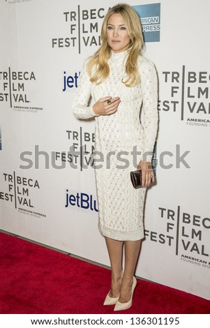 "NEW YORK - APRIL 22: Actress Kate Hudson attends World Premiere of ""Reluctant Fundamentalist"" during the 2013 Tribeca Film Festival on April 22, 2013 in New York"