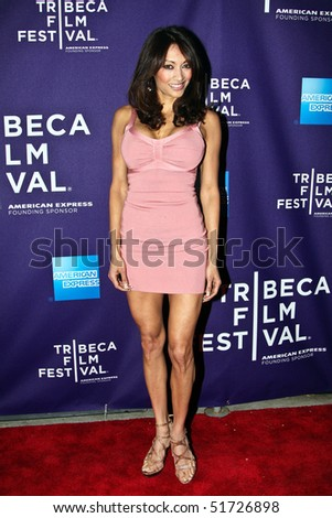 "NEW YORK - APRIL 24: Maria Bierk attends the ""RUSH: Beyond the Lighted Stage"" premiere during the 2010 TriBeCa Film Festival at the School of Visual Arts Theater on April 24, 2010 in New York City. - stock photo"