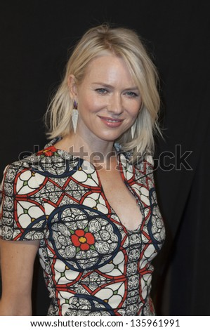 NEW YORK - APRIL 20: Naomi Watts attends 'The Sunlight Jr.' premiere at Tribeca Film Festival at BMCC on April 20, 2013 in New York City