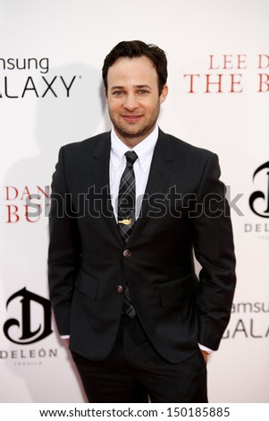 "NEW YORK-AUG 5: Screenwriter Danny Strong attends the premiere of Lee Daniels' ""The Butler"" at the Ziegfeld Theatre on August 5, 2013 in New York City."