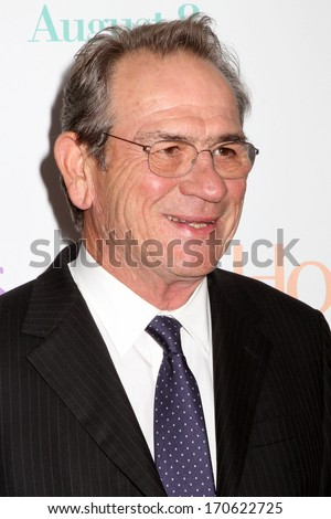 "NEW YORK - AUG 6: Tommy Lee Jones attends the premiere of ""Hope Springs"" at the SVA Theater on August 6, 2012 in New York City."