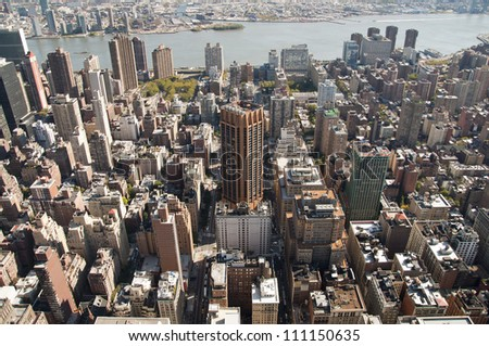 New york buildings - stock photo