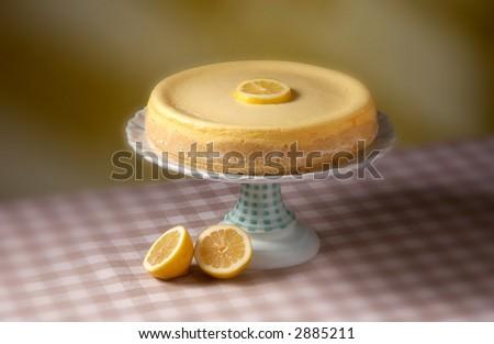 New York Cheesecake - stock photo