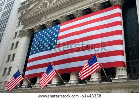 NEW YORK - CIRCA JULY 2009: The New York Stock Exchange circa July 2009 in New York City. It is the world's largest stock exchange by market capitalization of its listed companies.