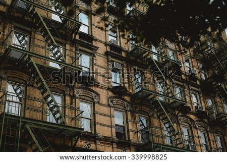 New York City Building   - stock photo