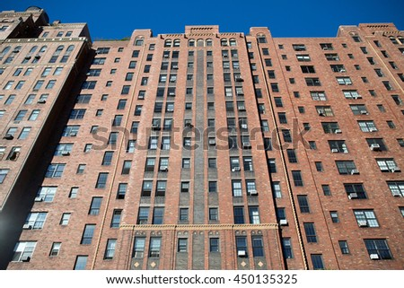 New York City building in Midtown , USA - stock photo