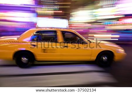 New York City Cab - stock photo