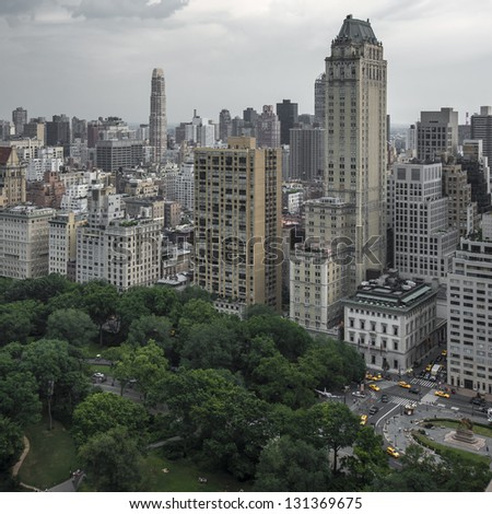 New York City Central Park - stock photo