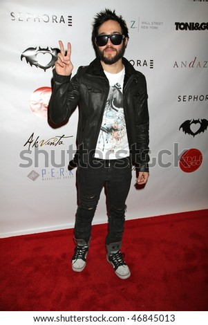 NEW YORK CITY - FEBRUARY 16 : Pete Wentz attends Clandestine Industries by Pete Wentz's afterparty  on February 16, 2010 in NYC. - stock photo