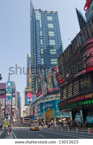 New York City is the most populous city in the United States, with its metropolitan area ranking among the largest urban areas in the world. - stock photo