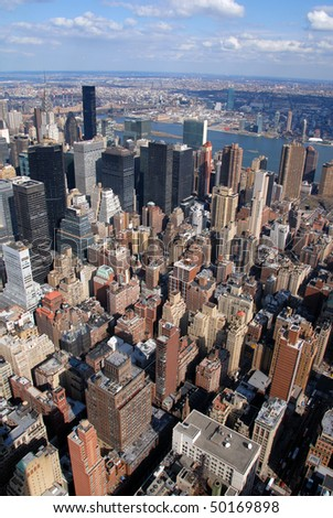 New York City - Manhattan - stock photo
