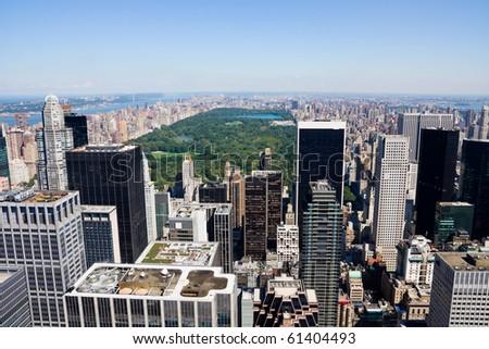 New York City, Manhattan skyline - stock photo