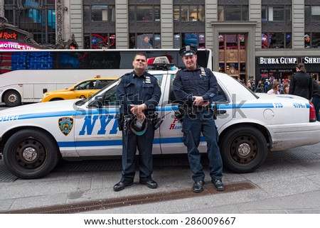 The coercive force of police officers in the united states
