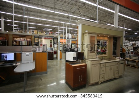 NEW YORK CITY   NOVEMBER 29 2015: The Home Depot, Founded In 1978 U0026
