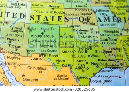 New Mexico Map Stock Images RoyaltyFree Images Vectors