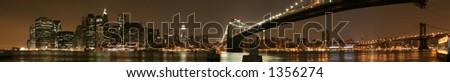 New York City Panorama - stock photo