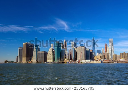 New York City Skyline, Manhattan view