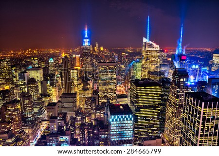 New York City Skyline. USA. - stock photo