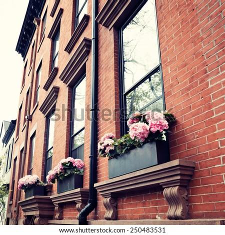 New York City Spring - stock photo