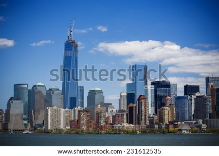 New York City - the capital of the world - stock photo