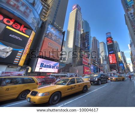 New York City, Times Square - stock photo