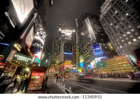 New york city - times square, Manhattan - stock photo
