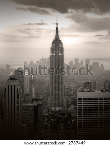 New York city - united states of America - stock photo